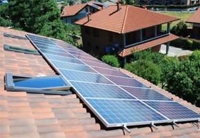 Taglia Impianto fotovoltaico: 5 Kwp Località: Pianezza (Torino) Moduli utilizzati: Schott solar 235wp Inverter utilizzati: Fimer