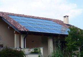 Taglia impianto fotovoltaico: 5,875 Kwp Località: Villarbasse (Torino) Moduli utilizzati: SOLARWATT 240wp Inverter utilizzato: Solarmax Particolarità: impianto integrato con innovazione teconlogica
