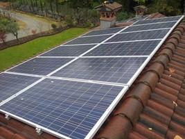 Taglia impianto fotovoltaico: 7,28Kwp: Località Concesio (BS) Moduli utilizzati: Winaico 260w Inverter utilizzati: Abb trio