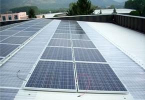 Taglia impianto fotovoltaico: 20 Kwp Località: Pianezza (Torino) Moduli utilizzati: REC 235wp Inverter utilizzati: Power One