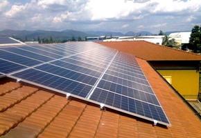 Taglia impianto fotovoltaico: 15 Kwp Località: Cazzago San Martino (Brescia) Moduli utilizzati: REC 235wp Inverter utilizzati: Danfoss