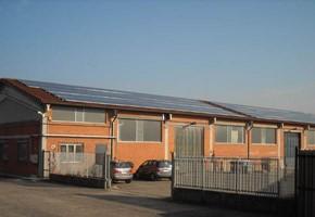 Taglia impianto fotovoltaico: 50 Kwp Località: Grugliasco (Torino) Moduli utilizzati: QCELL 240wp Inverter utilizzati: Power One