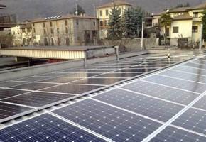 Taglia impianto fotovoltaico: 19,5 Kwp Località: Concesio (Brescia) Moduli utilizzati: JA SOLAR 250wp Inverter utilizzati: Solarmax